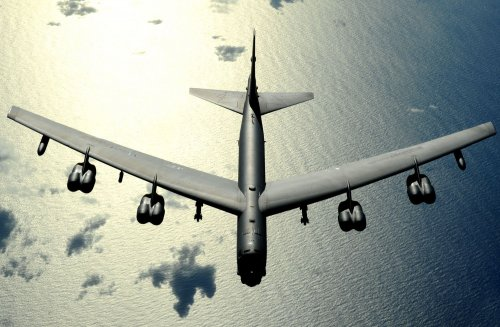 China responds to B-52 flyover