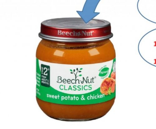 Beech-nut baby food recalled due to glass shard