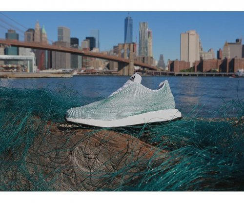 Adidas builds shoes from ocean trash