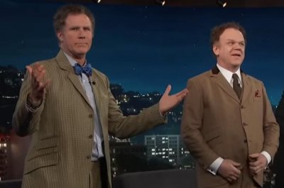Will Ferrell, John C. Reilly talk friendship, sing 'Reunited'