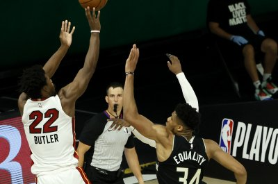 Jimmy Butler, Heat hold off Bucks for historic Game 2 win