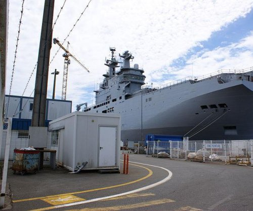 France considers refund to Russia for undelivered warships