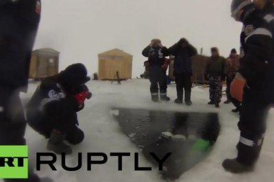 Russian scuba divers set deepest under-ice dive record