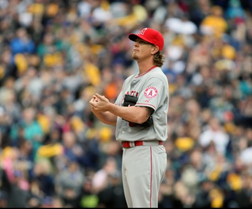 Jered Weaver beats Baltimore Orioles in 300th start for Los Angeles Angels