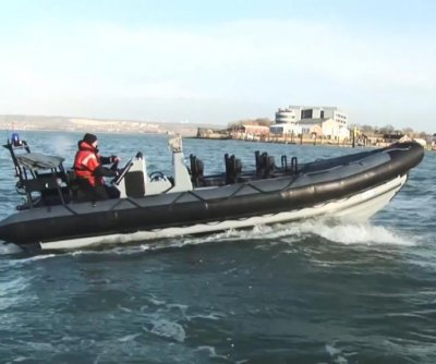 BAE's first new rigid inflatable boat for Royal Navy compete
