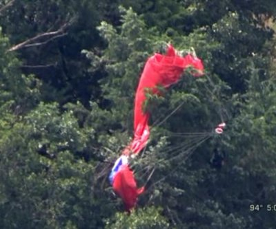 Skydiver's body found 5 miles away from parachute in Oklahoma