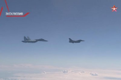 Russia says NATO F-16 approached defense minister's plane