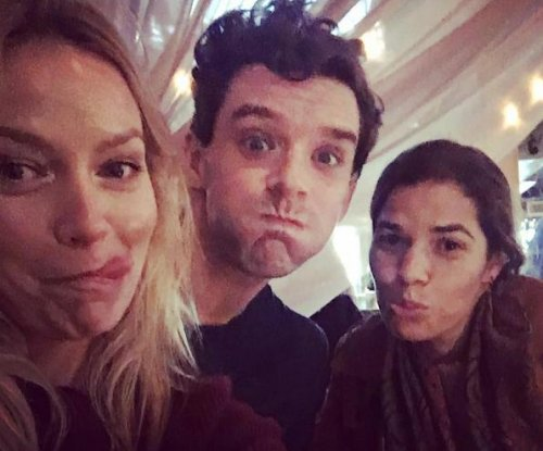 America Ferrera reunites with 'Ugly Betty' co-stars Becki Newton, Michael Urie