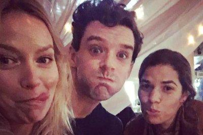 America Ferrera reunites with 'Ugly Betty' co-stars Becki Newton, Michael Urie