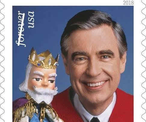 U.S. Postal Service unveils commemorative Mr. Rogers stamp