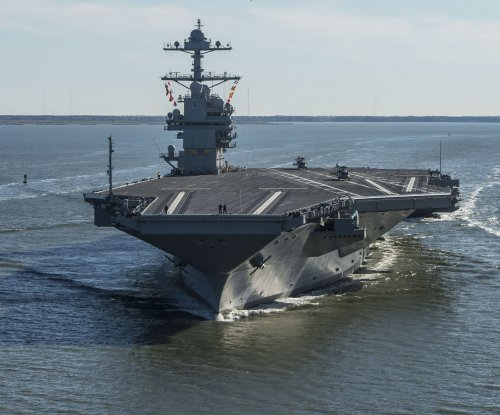 HII contracted for repairs, upgrades on USS Gerald R. Ford