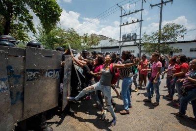 U.S. missionary held in Venezuela asks for help amid prisoner uprising