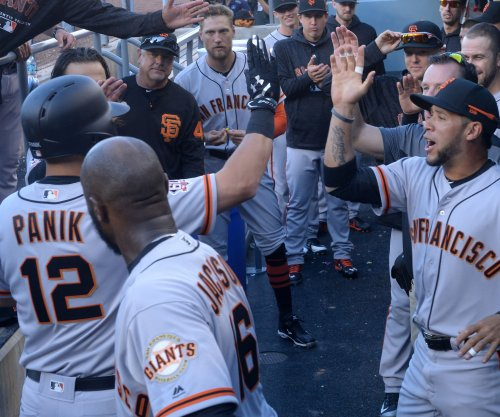 Cole, Houston Astros open two-game set vs. San Francisco Giants
