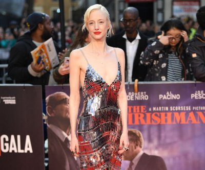 Andrea Riseborough navigates 'insane' schedule to make 'Luxor'