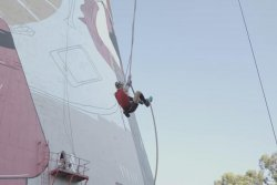 Athlete climbs 164-foot rope in under 4 minutes for Guinness record