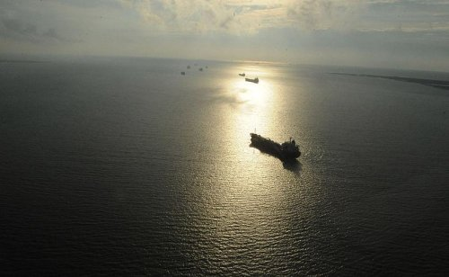 Kurdish oil parked off U.S. coast
