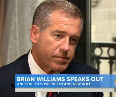 Brian Williams says reporting inaccuracies were 'clearly ego-driven'