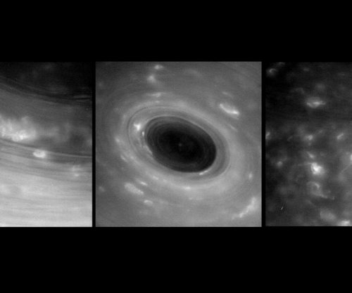 See the first images from Cassini's dive between Saturn and its rings