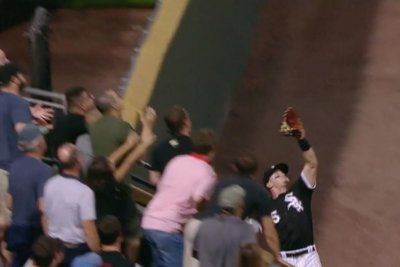 White Sox's Adam Engel robs homer from Yankees' Bird