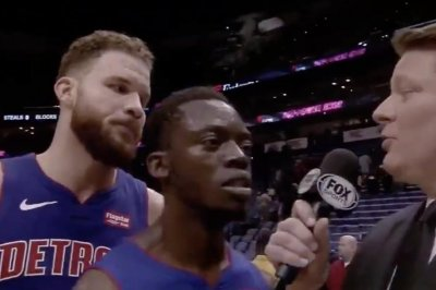 Pistons' Reggie Jackson does Blake Griffin video bomb at worst time