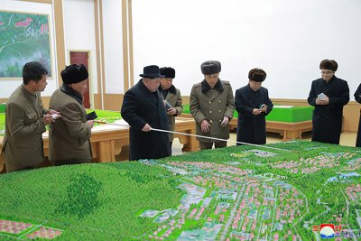 Dozens of buildings completed in Samjiyon county, North Korea says
