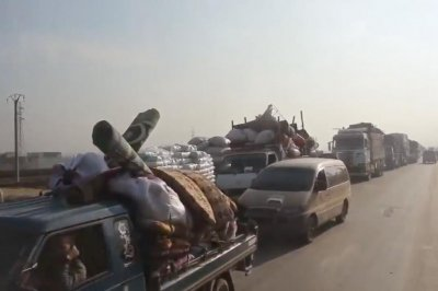 Relief group: More than 200K people displaced in Syria amid offensive