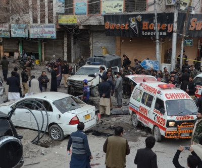 Suicide bomber kills eight in Pakistan