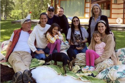 Bruce Willis, Demi Moore throw birthday party for Emma Heming