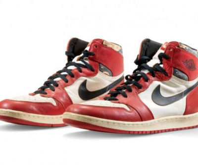 Michael Jordan shoes auctioned for $615,000, setting new record