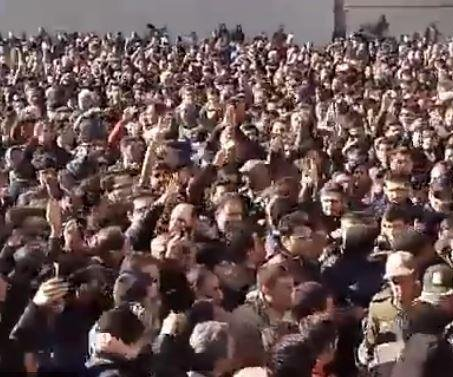 Thousands protest high prices in Iran's Mashhad