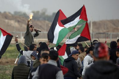 Palestinian teen dies in violent border clashes against Israeli troops