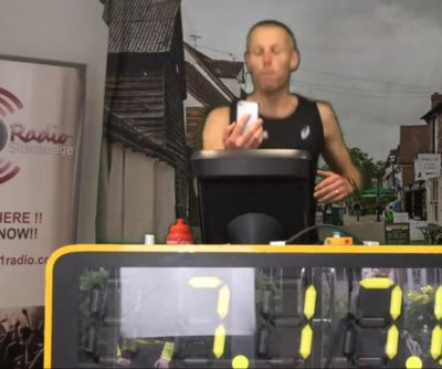 British man breaks Guinness record for Indoor Ironman Triathlon