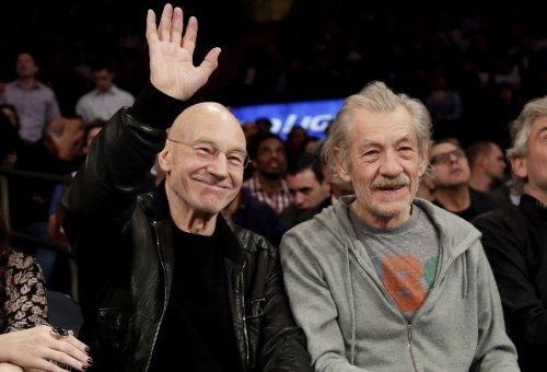 Patrick Stewart and Ian McKellen continue their friendship in NY [PHOTOS]