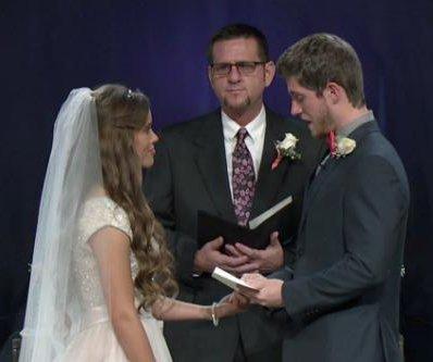 Jessa Duggar, Ben Seewald reveal their wedding vows