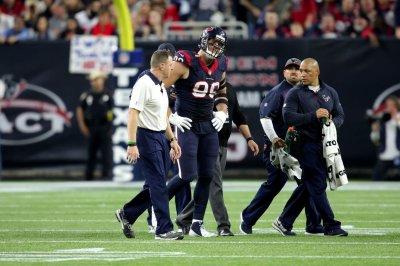 Houston Texans DE J.J. Watt gets back surgery, done for season