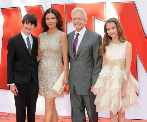 Catherine Zeta-Jones says her kids want to go into show business