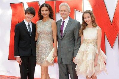 Catherine Zeta-Jones says her kids want to go into show business