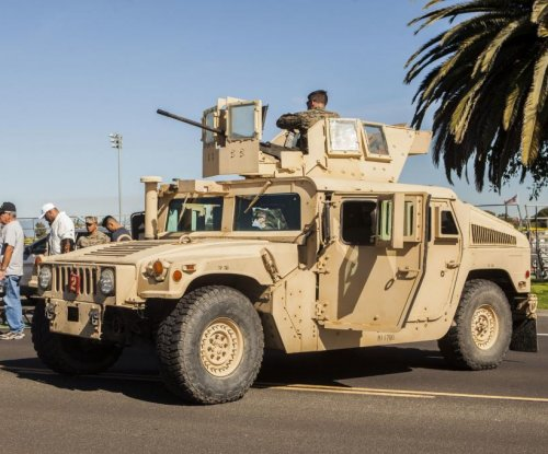 U.S. to provide over 6,500 Humvees to Afghanistan