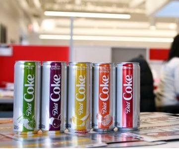 Diet Coke gets total makeover with four new flavors
