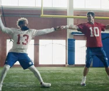 Eli Manning, Odell Beckham Jr. dance together in Super Bowl ad