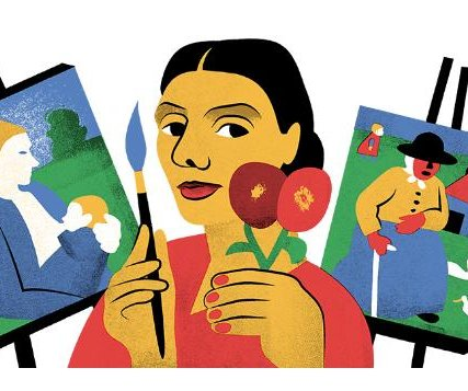 Google honors artist Modersohn-Becker with new Doodle
