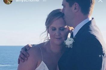 Amy Schumer denies pregnancy after surprise wedding