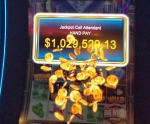 Tourist wins $1M in under 5 minutes at Las Vegas casino