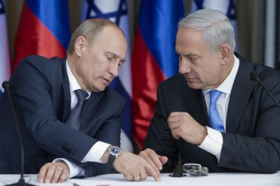 Putin opposes Netanyahu's annexation plans as the two meet in Sochi