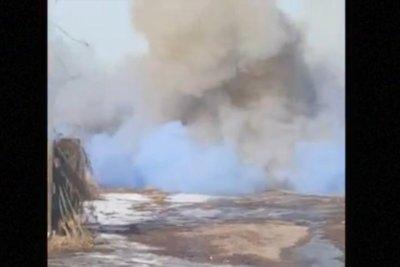 'Gender reveal' explosion earns Nebraska man $1,000 ticket