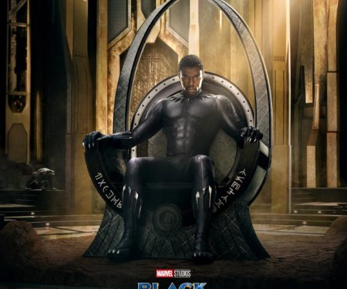 'Black Panther': T'Challa takes throne in movie poster
