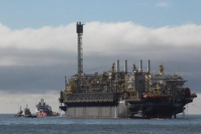 Petrobras starts 150K barrels-per-day platform in pre-salt field