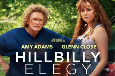 'Hillbilly Elegy' poster shows Glenn Close, Amy Adams play mother, daughter