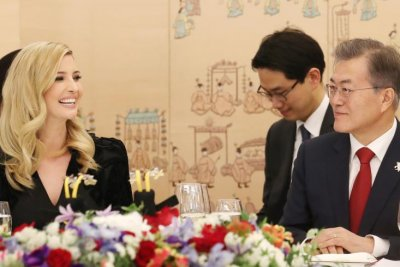 Moon Jae-in, Ivanka Trump stress need for peace, differ on strategy