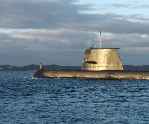 Australian submarine sonar systems begin $407 million upgrade